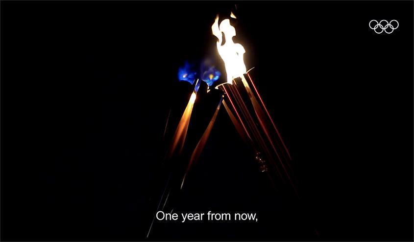 La fiamma Olimpica