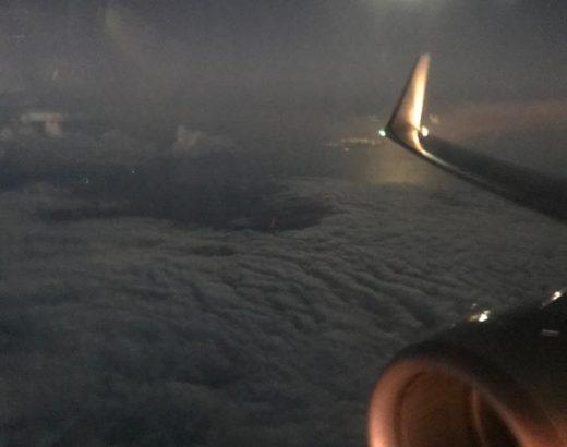 In viaggio sopra le nuvole