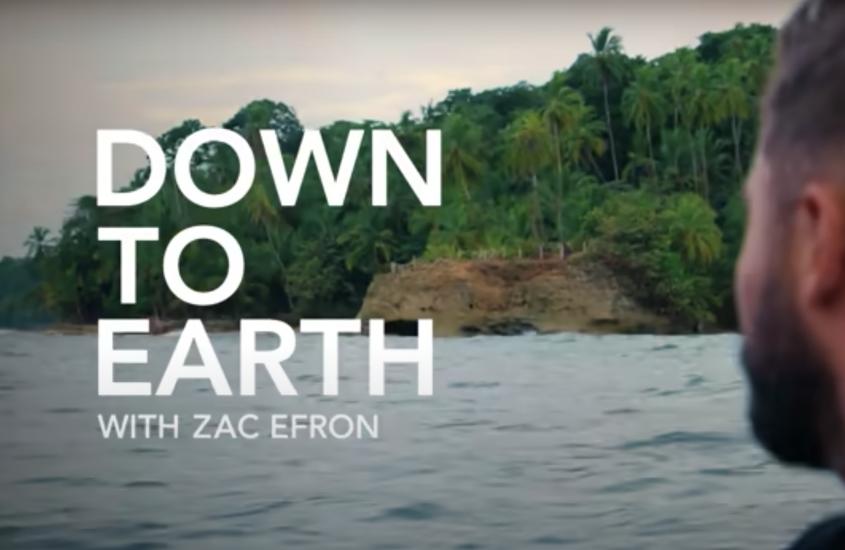 Docuserie sull'ambiente con Zac Efron