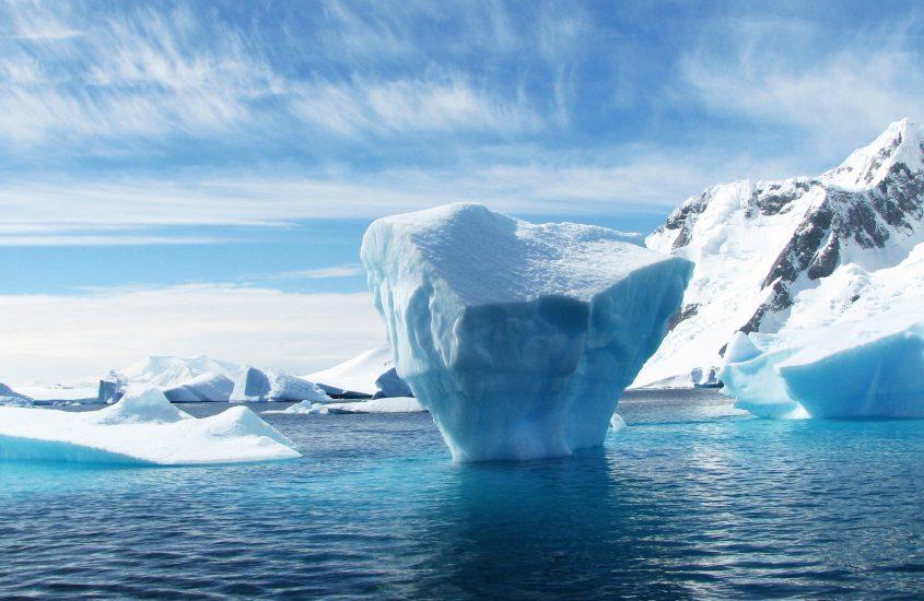 Aria purissima sull'Antartico
