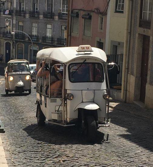 Il ritmo calmo di Lisbona