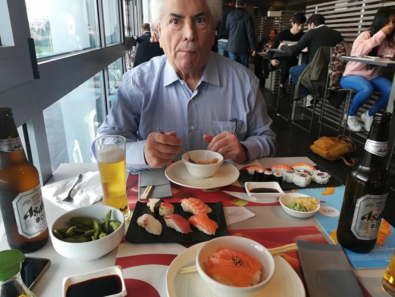Sior Pare e il Sushi