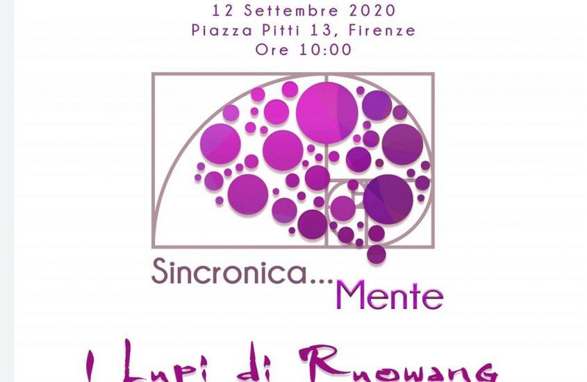 Buone notizie sincroniche: in Piazza Pitti a Firenze un incontro Sabato 12 Settembre