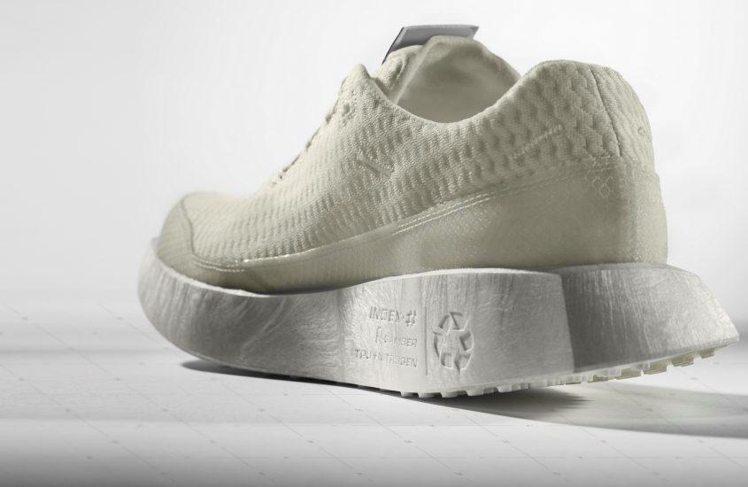Arriva Index.01, la scarpa da running completamente riciclabile