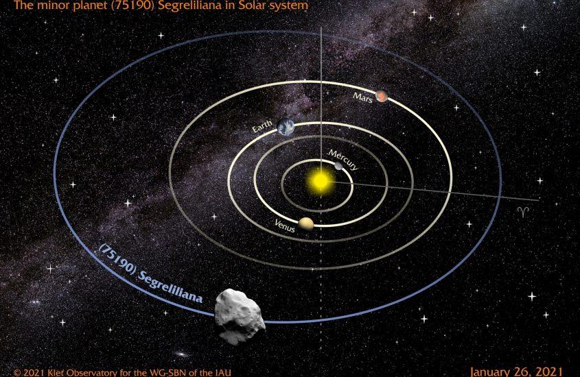 Un asteroide dedicato a Liliana Segre