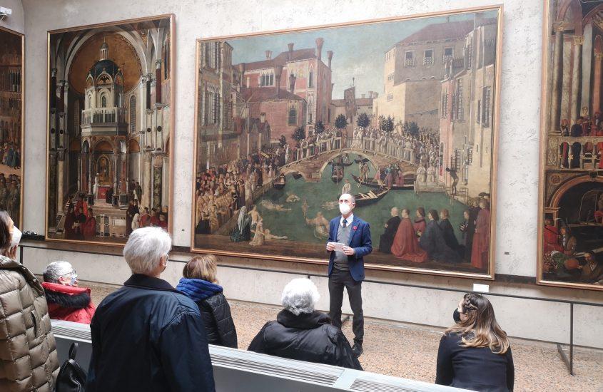 Venezia, Gallerie dell'Accademia: boom di visite