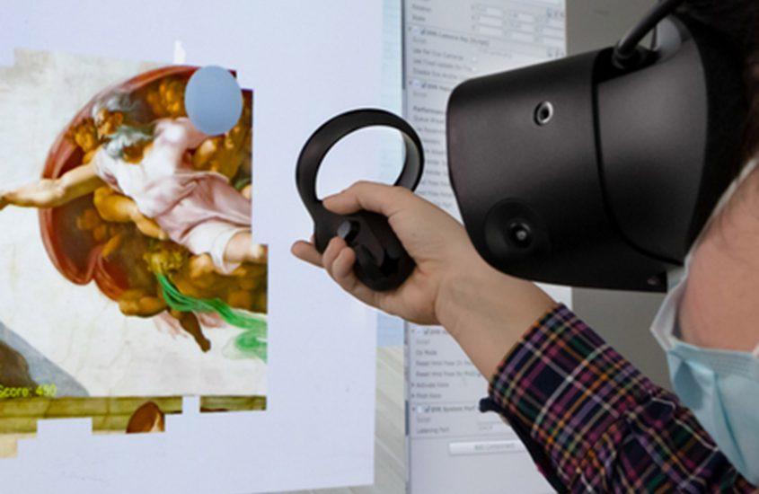 Effetto Michelangelo: opere d'arte e realtà virtuale potenziano l'efficacia delle terapie di neuroriabilitazione