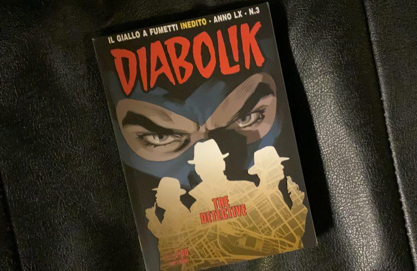 "Diabolik, ""Tre detective"""
