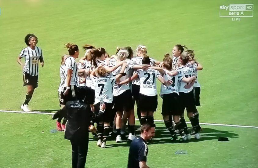 Quattro scudetti su quattro per la Juventus Women
