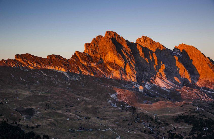 Burning Dolomites, lo spettacolo a cielo aperto