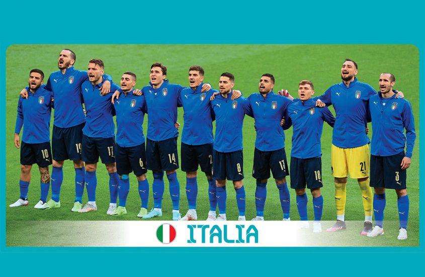Italia Campione d'Europa. Le figurine del trionfo azzurro